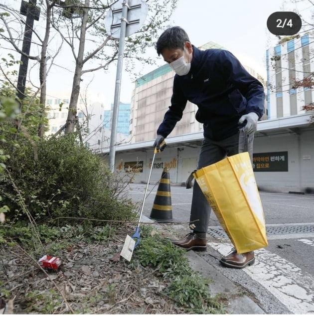 사진=정용진 신세계그룹 부회장 인스타그램 캡쳐