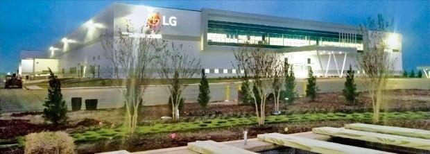 미국 테네시주 클라크스빌의 LG전자 세탁기 공장. 한경DB.