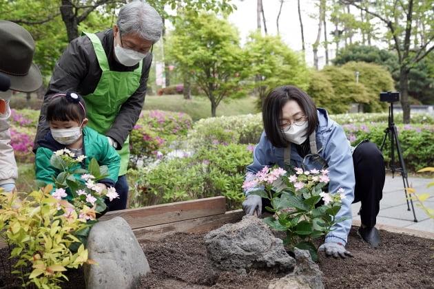성남시, 16일부터 이틀간 '봄 꽃 한 뼘 정원' 조성 나서