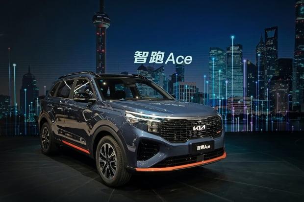 중국 전략형 준중형 SUV '즈파오 페이스리프트'./ 사진=기아