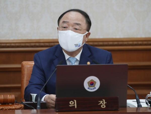 홍남기 국무총리 직무대행. 신경훈 기자 khshin@hankyung.com