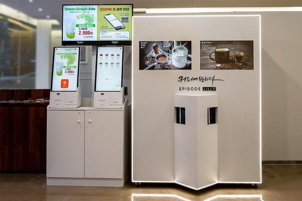프랜차이즈 커피전문점 커피에반하다가 오는 22일 서울 강남구 삼성동에 로봇 바리스타를 활용한 24시 무인 '스마트 카페' 쇼룸을 연다고 21일 밝혔다. [사진=커피에반하다 제공]