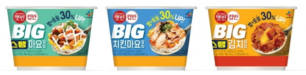 """MZ세대 잡아라""…CJ제일제당, '햇반컵반 BIG' 출시"