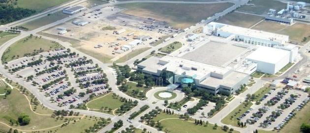 미국 텍사스 오스틴에 있는 삼성전자 반도체 공장 전경. <삼성전자 제공>