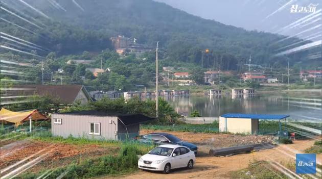 박춘성 작가가 강화도에 지은 농막 전경.