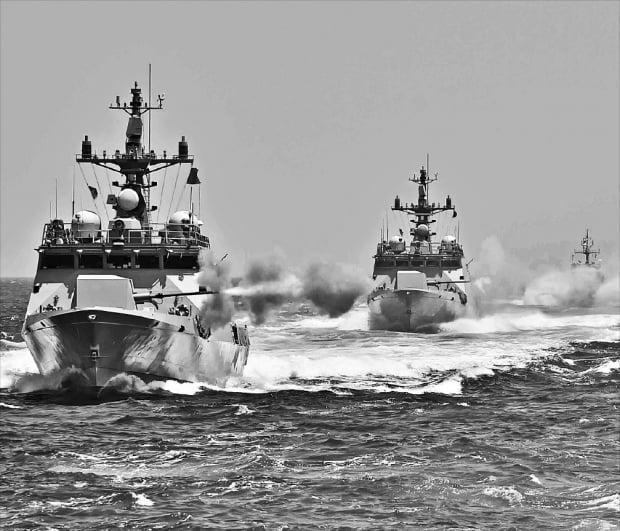 해군 함정. 사진=연합뉴스