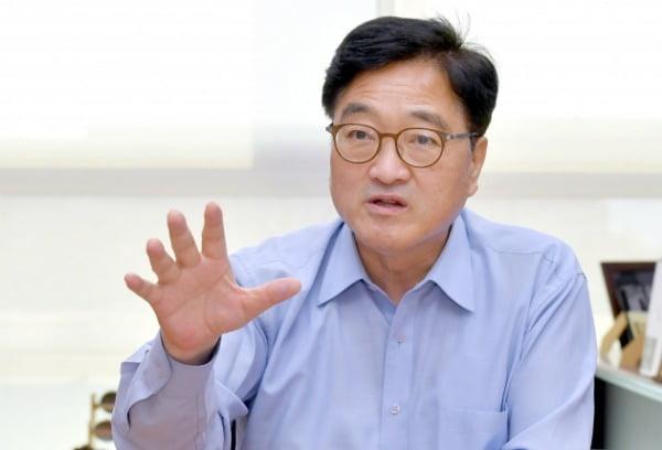 우원식 더불어민주당 의원. 당대표 경선 후보 ./ 김영우 기자