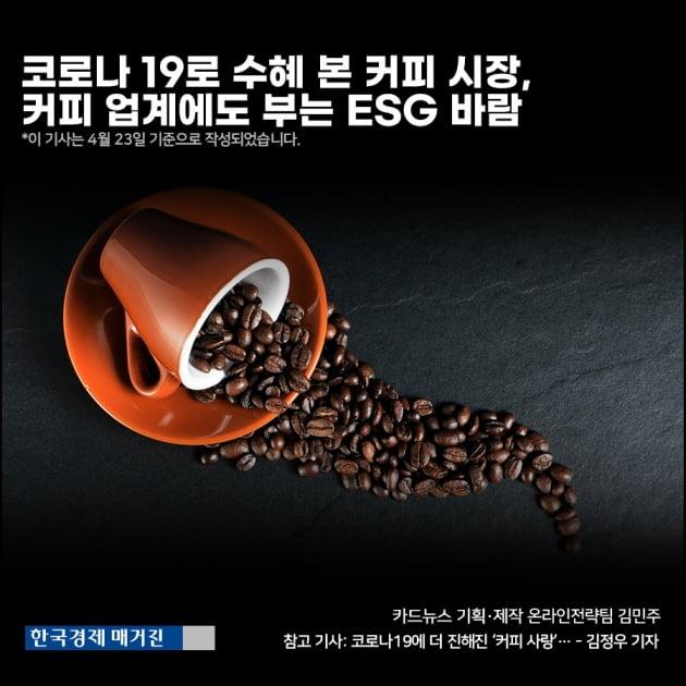 [영상뉴스] 코로나 19로 수혜 본 커피 시장,커피 업계에도 부는 ESG 바람