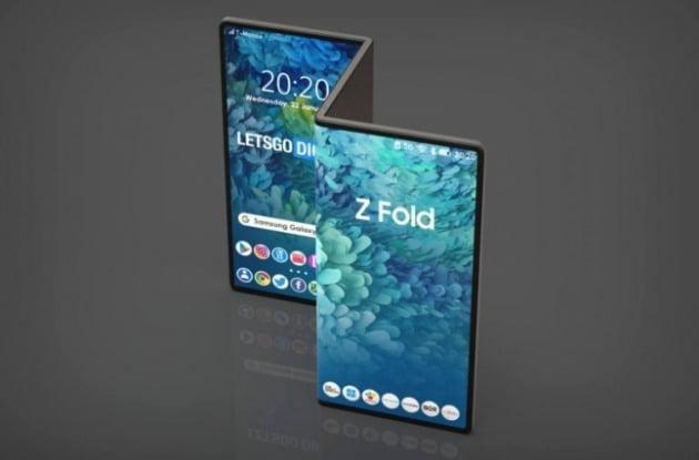 네덜란드 IT매체 레츠고디지털이 만든 삼성전자 폴더블 태블릿 예상 렌더링. [사진=레츠고디지털 홈페이지 캡처]