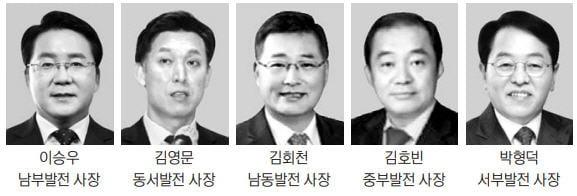 """5개 발전 자회사 사장들 취임 일성…""""ESG 경영"""""""