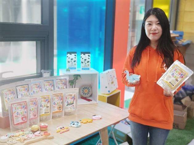 이달의 농식품 우수 벤처, 우유 원료 놀이용 점토 만든 크리에이터스랩