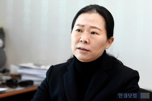 권은희 국민의당 원내대표 /사진=변성현 한경닷컴 기자 byun84@hankyung.com