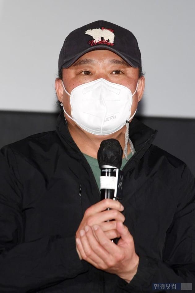[포토] 김정팔, '영화 출연해 영광입니다'