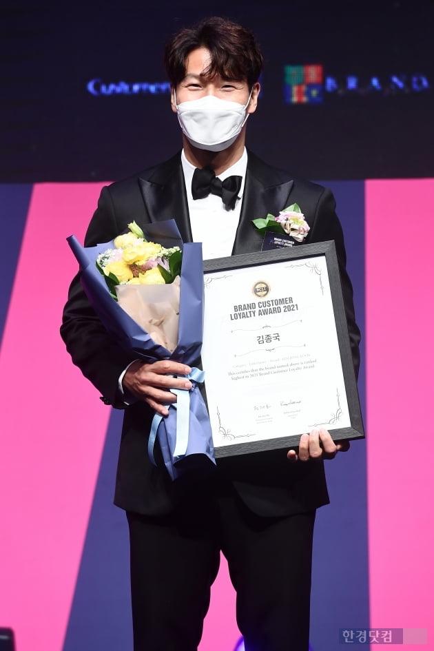 [포토] 김종국, '보는 사람도 기분 좋아지는 눈웃음'