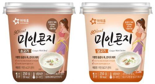 아워홈,     홍콩 대표 메뉴 '콘지(Congee)' 신제품 4종 출시