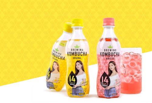 롯데칠성,     신개념 발효음료 '브루잉 콤부차' 2종 출시