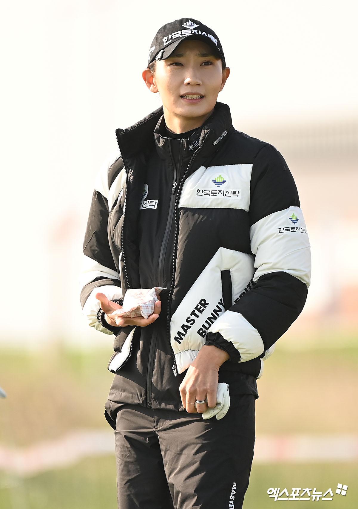 김민선5 '손을 따뜻하게'[포토]