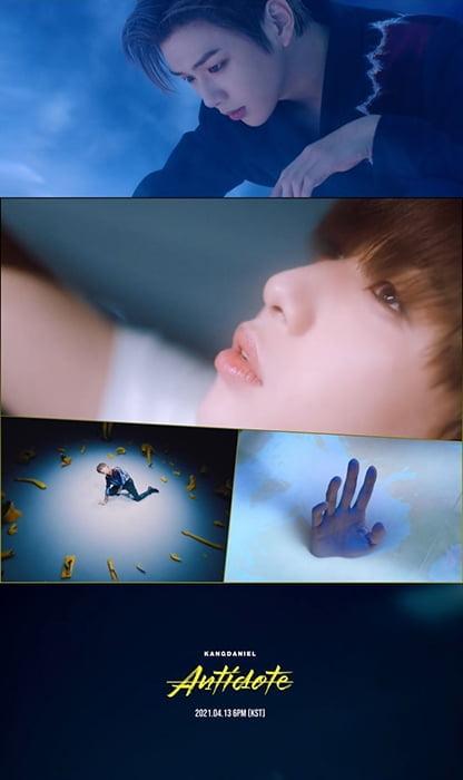 """강다니엘, `Antidote` MV 티저 공개…""""시공간 경계 초월"""""""