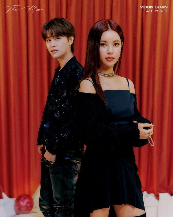 문수진, NCT 태일과 강렬 케미…11일 발매 신곡 '저 달' 티저 이미지 공개