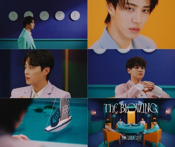 '5월 3일 완전체 컴백' 하이라이트, 새 미니앨범 'The Blowing' 트레일러 공개