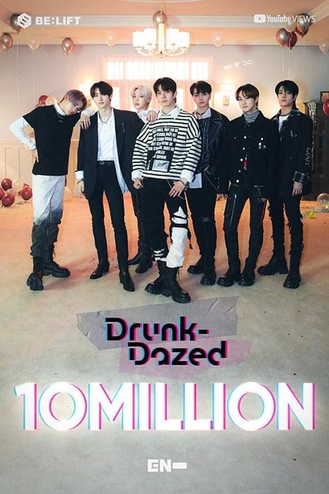 '4세대 핫 아이콘' ENHYPEN, 신곡 `Drunk-Dazed` 뮤직비디오 1천만 뷰 돌파