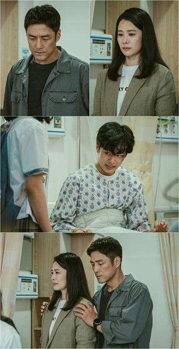 '언더커버' 행복한 가족을 덮친 위기 지진희X김현주, 아들 유선호 병원에서 포착