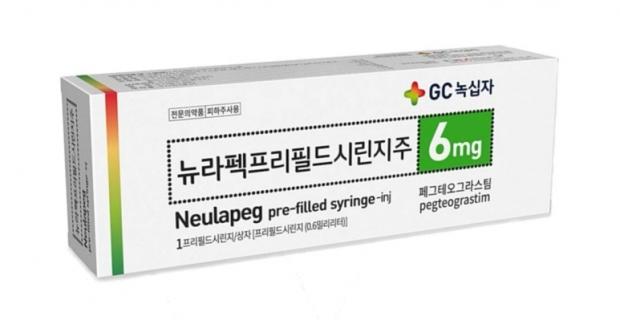 GC녹십자 호중구감소증 치료제 '뉴라펙',