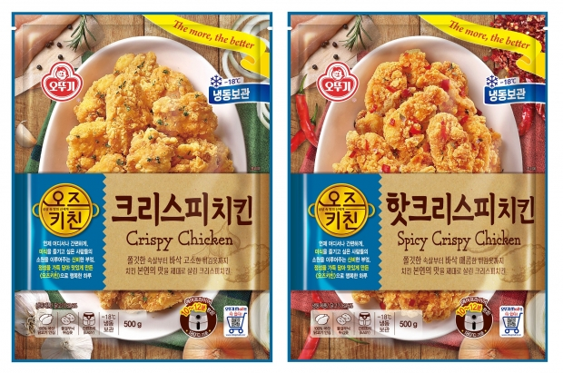 집에서도 간편하게 치킨을 즐기세요! '오즈키친 크리스피치킨' 2종 출시