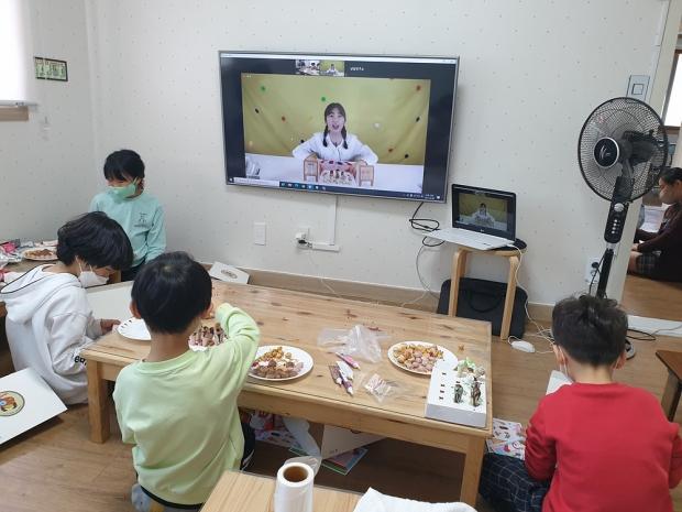 롯데중앙연구소, 놀이 과자 KIT 활용 사회공헌 활동 진행