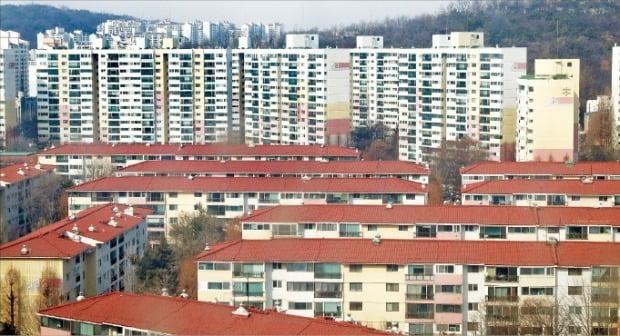 재건축 기대감이 있는 서울 양천구 목동 신시가지 아파트 전경.  /한경DB