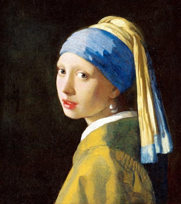 요하네스 페르메이르(Johannes Vermeer·1632~1675)의 '진주 귀고리 소녀'