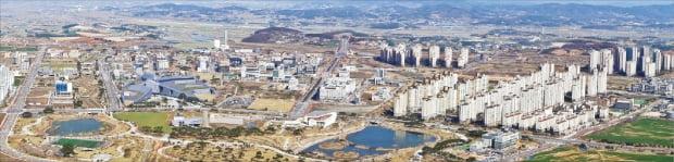 충남혁신도시가 들어설 내포신도시는 2040년 환황해권 중심이자 충남의 핵심 지역으로 조성된다.  충청남도 제공