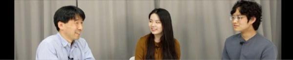 오른쪽부터 최정찬 생글이, 박채빈 생글이, 정태웅 한경 경제교육연구소 연구위원.