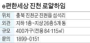 e편한세상 진천 로얄하임, 진천IC 인접…청주·안성까지 1시간 이내
