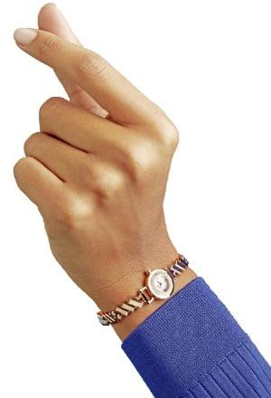 손목 위 '1인치의 예술작품'