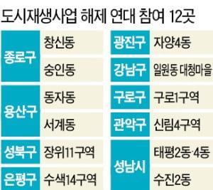 """吳시장 취임하자… 도시재생사업지 12곳 """"우리도 재개발 할 것"""""""