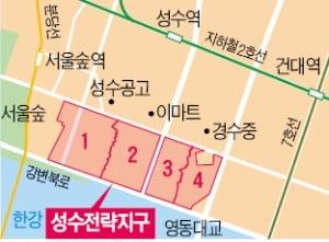 """""""한강변 50층 탄력 받을 것""""…매물 사라진 성수정비구역"""