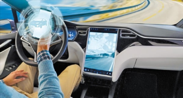 LG전자가 웹OS오토 플랫폼을 통해 자동차 인포테인먼트시스템 사업의 경쟁력을 강화하고 있다.  LG전자 제공