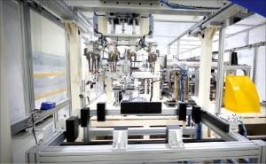 클레버 '파우치형 리튬이온 전지 폴딩기'
