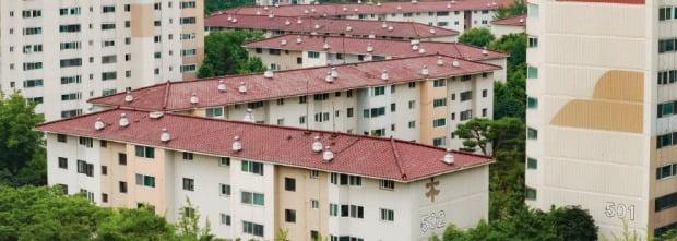 재건축 추진 단지가 모인 서울 양천구 목동 아파트 단지들.