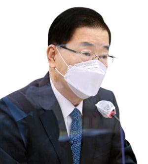 정의용 외교부 장관