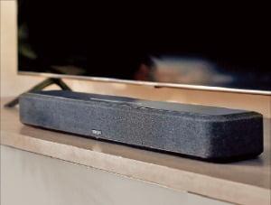 데논, 3D 사운드 장착 '명품 사운드바'