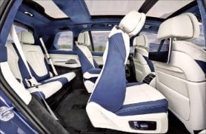 ③ BMW 뉴X7 실내 모습