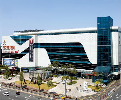 새 천년의 미래를 만들어가는 '대전복합터미널'