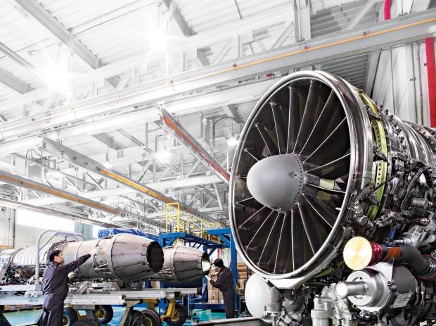 한화에어로스페이스의 항공기 엔진. /사진=한화에어로스페이스