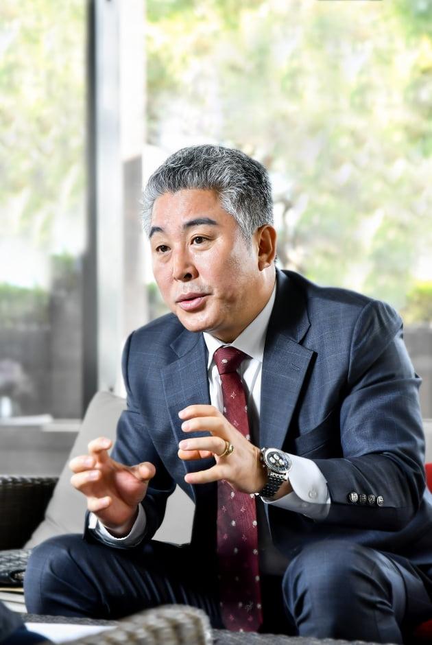 (사진) 장종원 세인이엔씨 대표. /서범세 기자