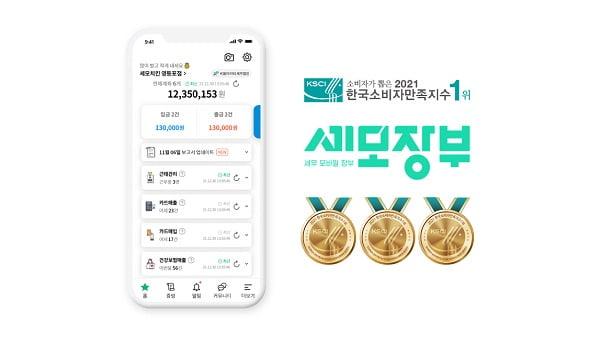 [2021 한국소비자만족지수 1위] 소상공인 세무·경영 관리 앱, 세모장부
