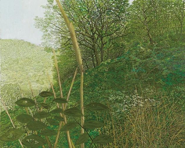'길 없는 산행', 2012년, 캔버스에 유채, 182×227cm