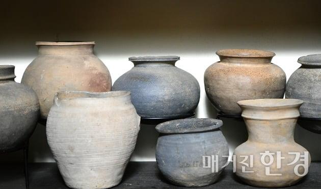 삼국시대 토기들.