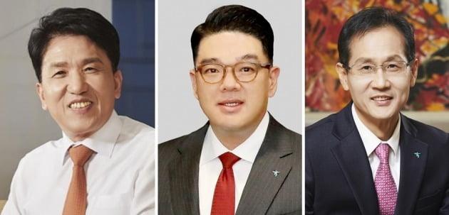 함영주·이은형·지성규 하나금융 부회장. [사진=한국경제신문·연합뉴스 등]